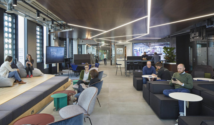 Capital One's Dynamic New London Office