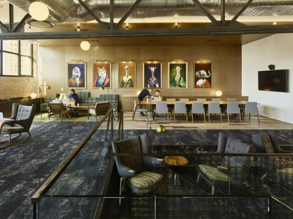 Google Chelsea Market Mezz Cafe