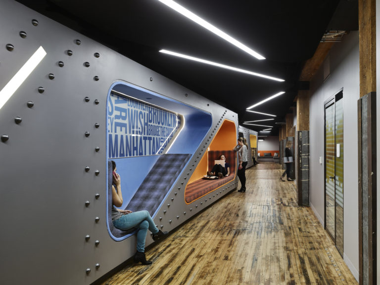 Google Chelsea Market 4th Floor