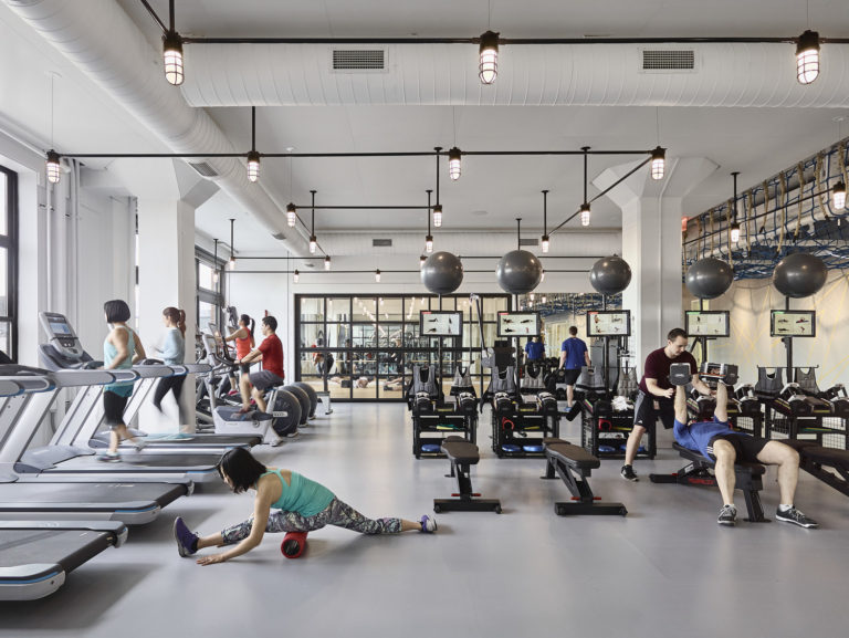 Google 111 Eighth Ave Fitness, Wellness + Message