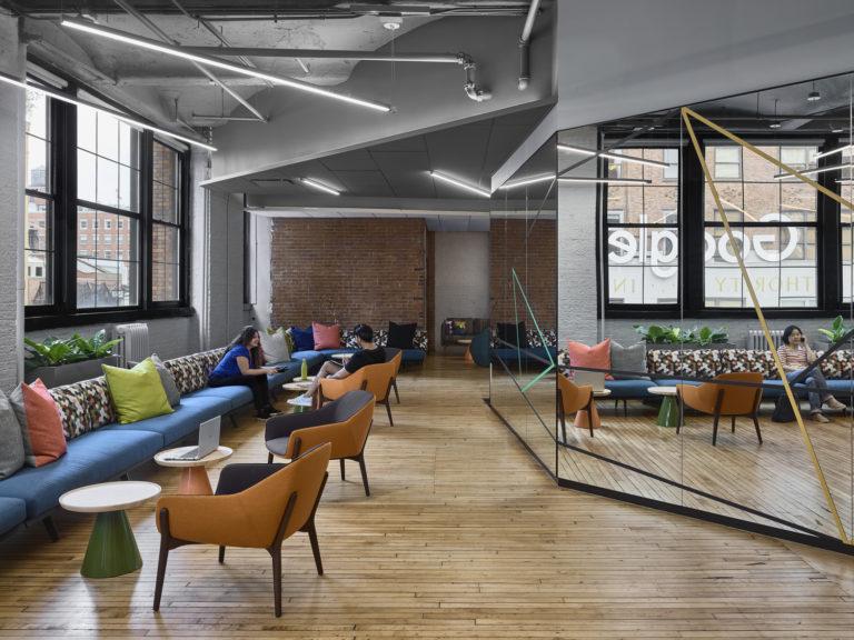Google Chelsea Market 2nd Floor