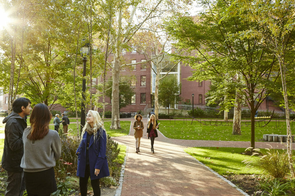 Pratt University Engineering Quad