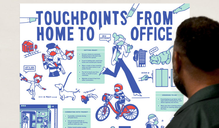 Touchpoints from Home to Office